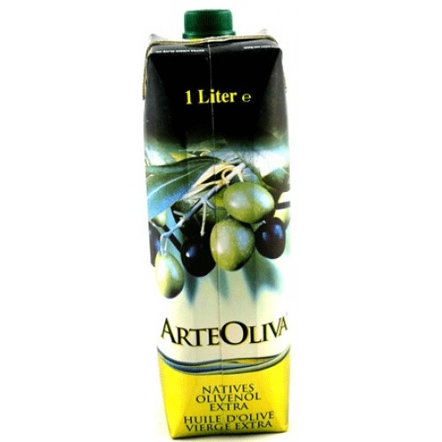 ArteOliva Extra Virgin Olive Oil - 1QT. 1.8FL. OZ. (1 Liter)   Arteoliva extra virgin olive oil is the masterful combination of 4 varieties of olive, picual, picudo, arbequinoand hojiblanco . As a result, we have obtained an extra virgin olive oil with aromas of fruit and fresh grass, with hints of Mediterranean dried fruits balanced perfectly with a touch of spice and bitterness.  The new Tetra Prisma packaging concept respects the environment, is healthier, ergonomically designed and more ecological, as well as protecting the product from external changes caused by light and air.