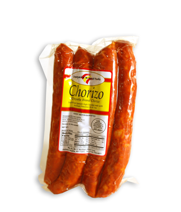 Hot Traditional Chorizo Picante.    For those who like it hot! This is the hottest of our chorizos because we use a higher concentration of Pimenton de la Vera picante. Spice it up with an ice-cold beer or glass of Godello!    TASTING NOTES:    Chorizo picante is a little bit drier in texture than our traditional chorizo. The spicy hot smoky flavor is concentrated and lingers in your mouth.    SPECIFICATIONS:    4 links per vacuum sealed package.   Approximate weight: 1 lbs   Each link is 6 inch long by 1 inch diameter.   Natural casings. All pork product.   Fully cooked. Proudly made in the USA   45 day shelf life.    Due to the artisanal nature of this product, weight will vary from unit to unit. The price listed is an approximation, but a reliable representation of the cost per unit.