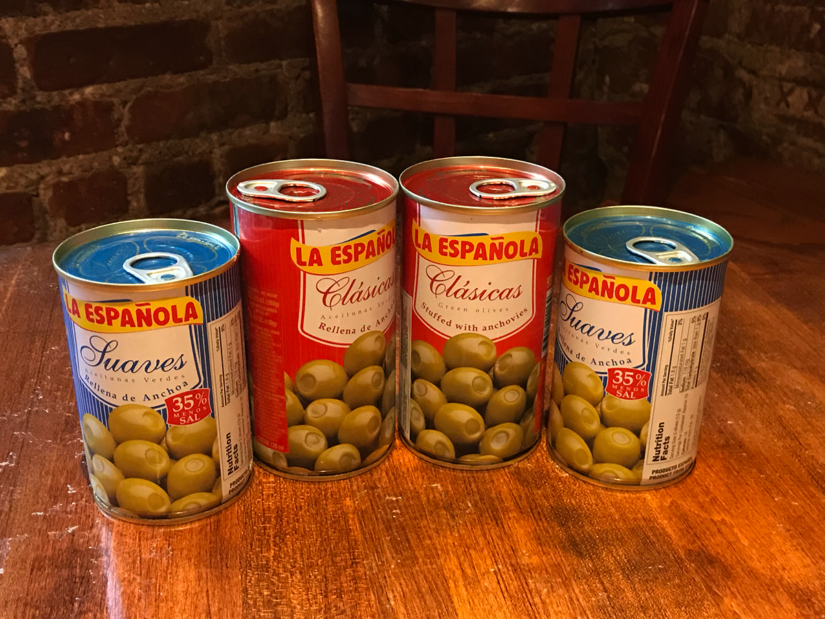 OLIVES, SNACKS & SPREADS -