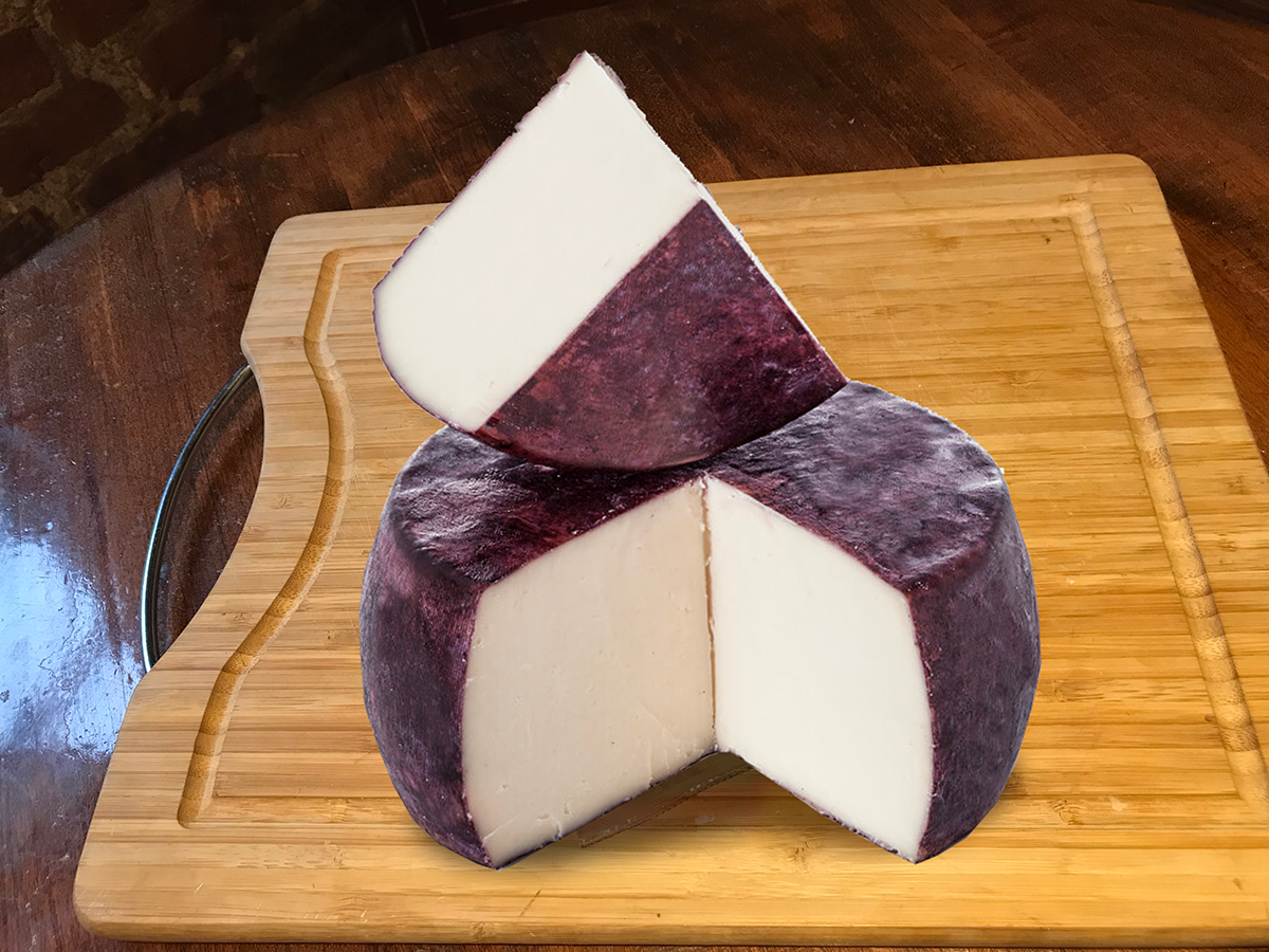 Murcia al Vino Pasteurized Goat`s Milk Cheese - (2 months)Murcia al Vino D.O