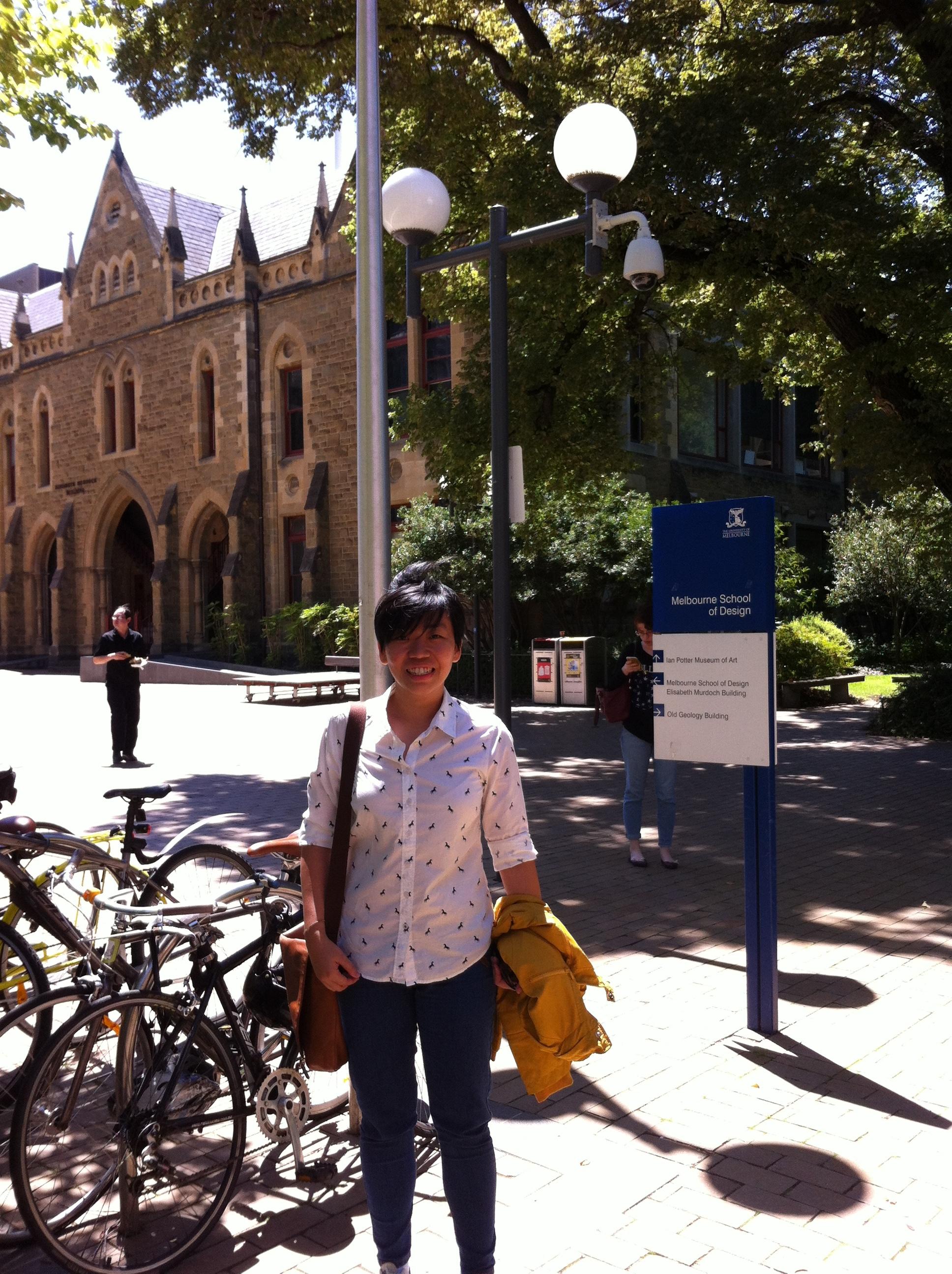 Jevelin at Melbourne University