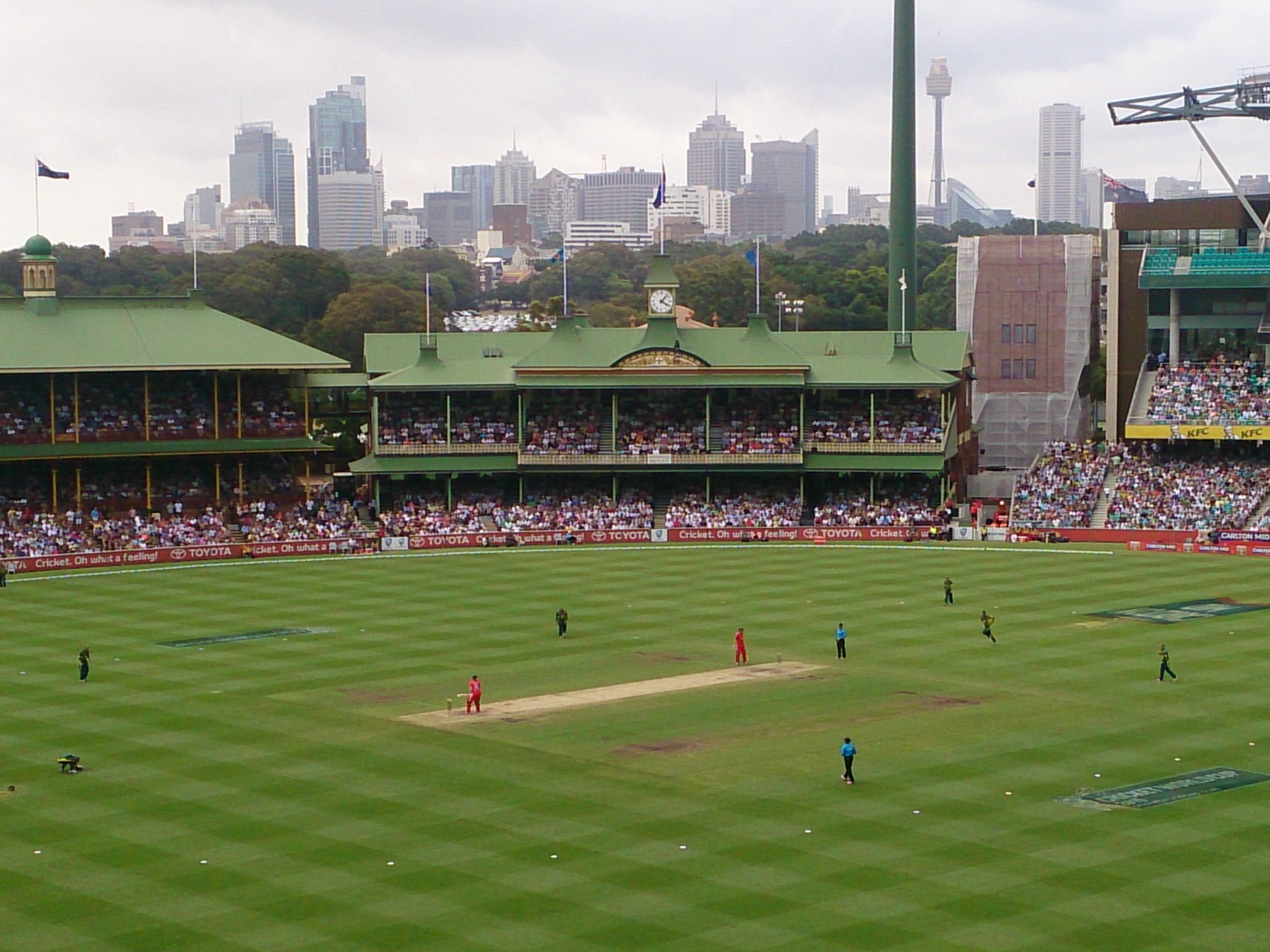 The Sydney Cricket Ground. UniBRIDGE Project