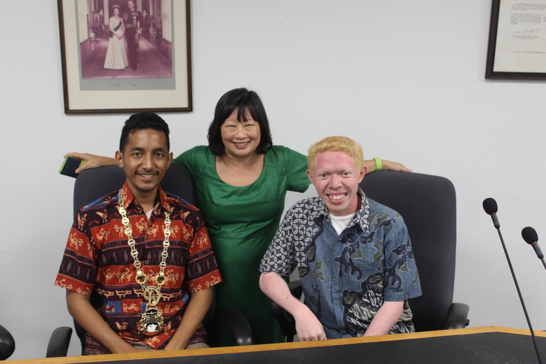 Meeting with the Lord Mayor of Darwin