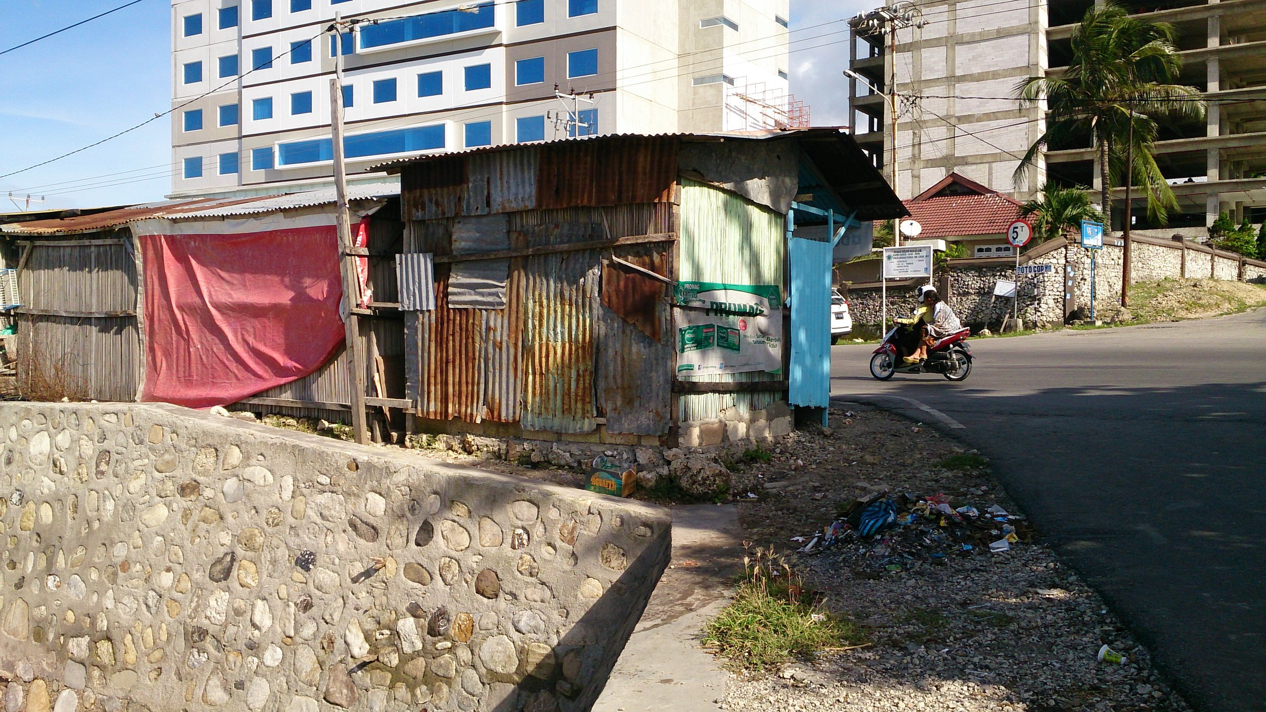 Old and New in Kupang, Indonesia