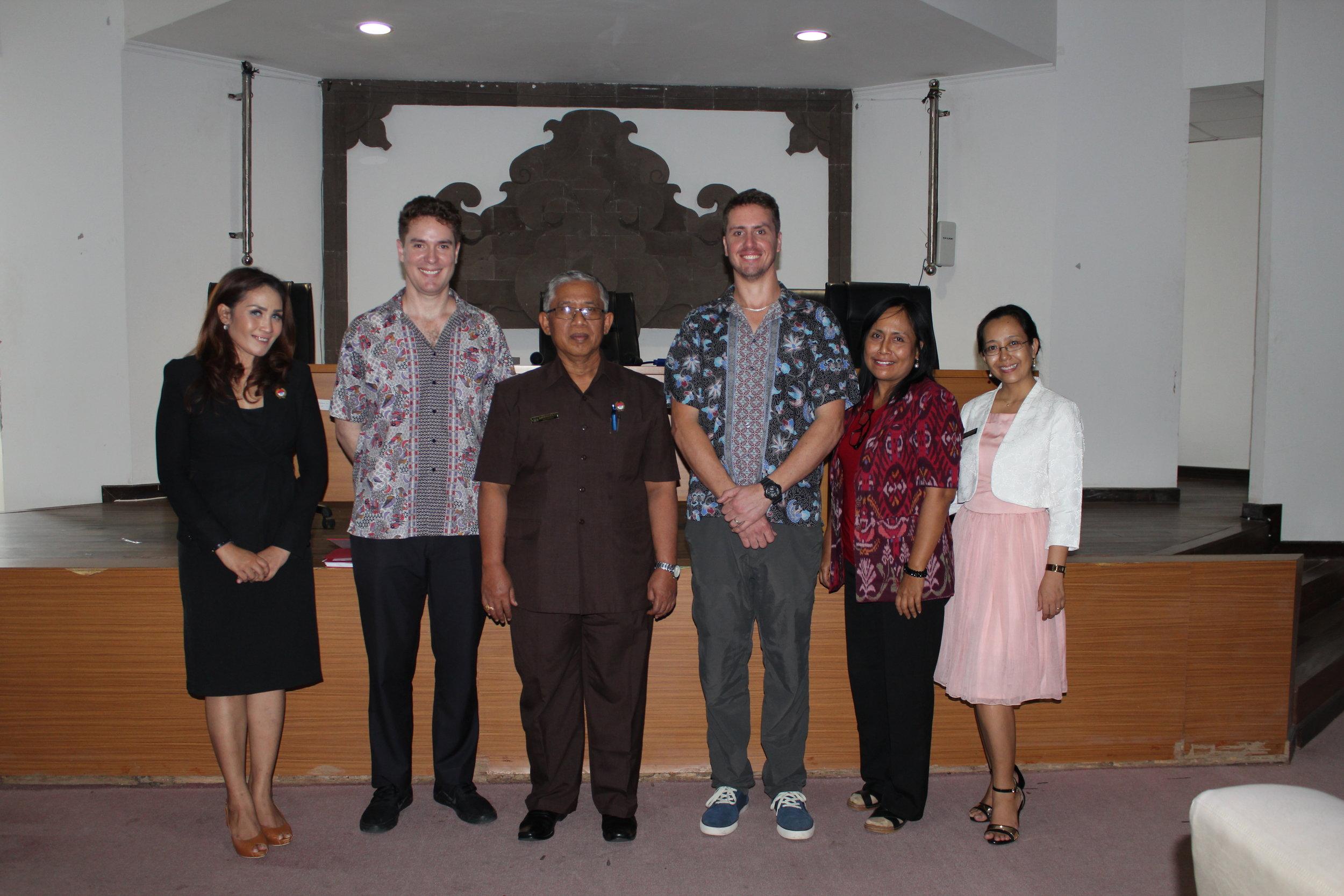 UniBRIDGE Project representatives visit Universitas Pendidikan Ganesha - April 2017
