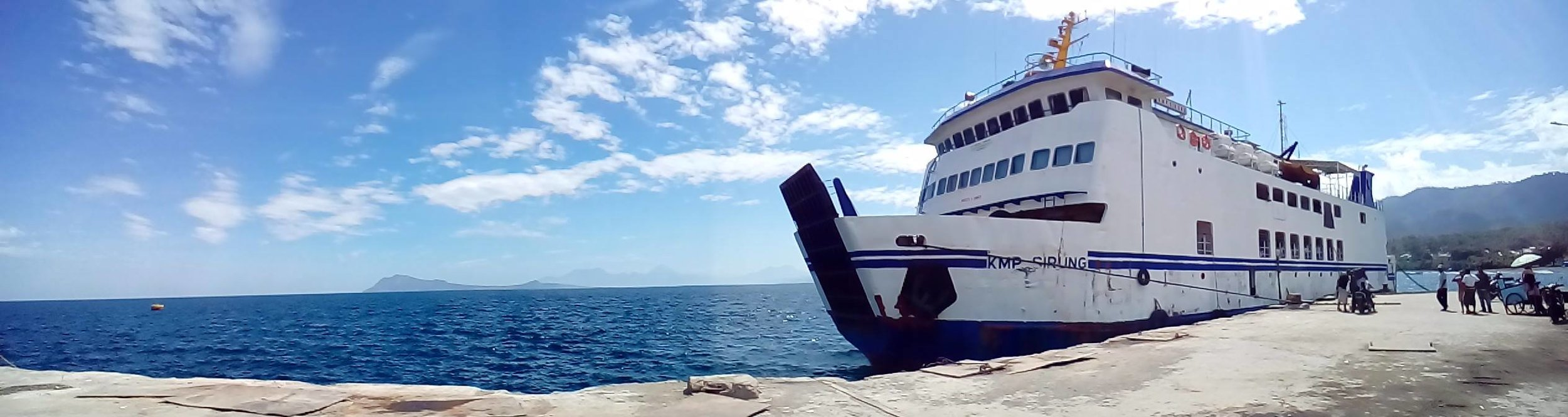 Ferry between Ende, Flores and Kupang, Timor