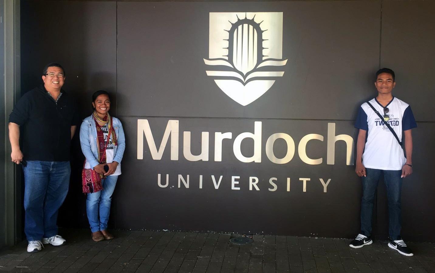 Murdoch University visit