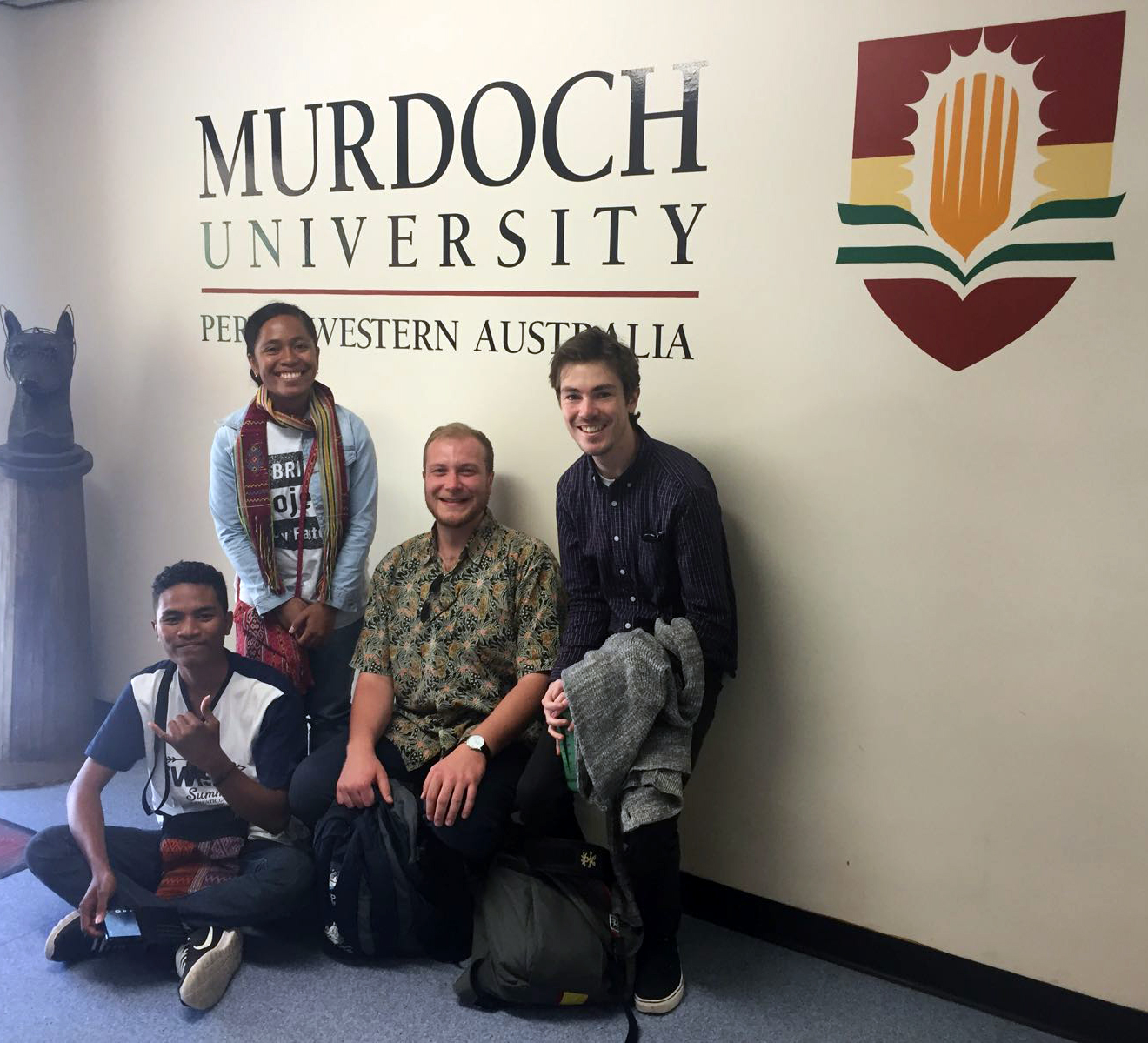 Catching up with Murdoch students