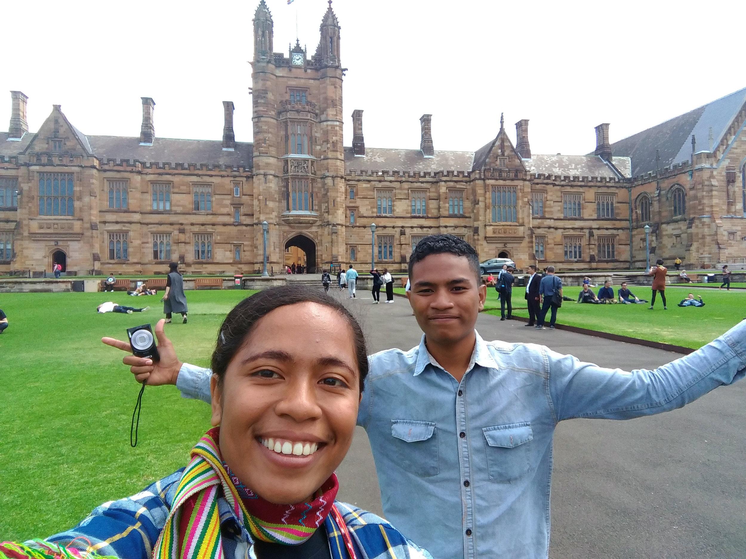 Not Hogwarts? University of Sydney, Australia