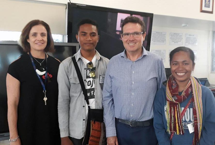 Meeting teachers in Queensland