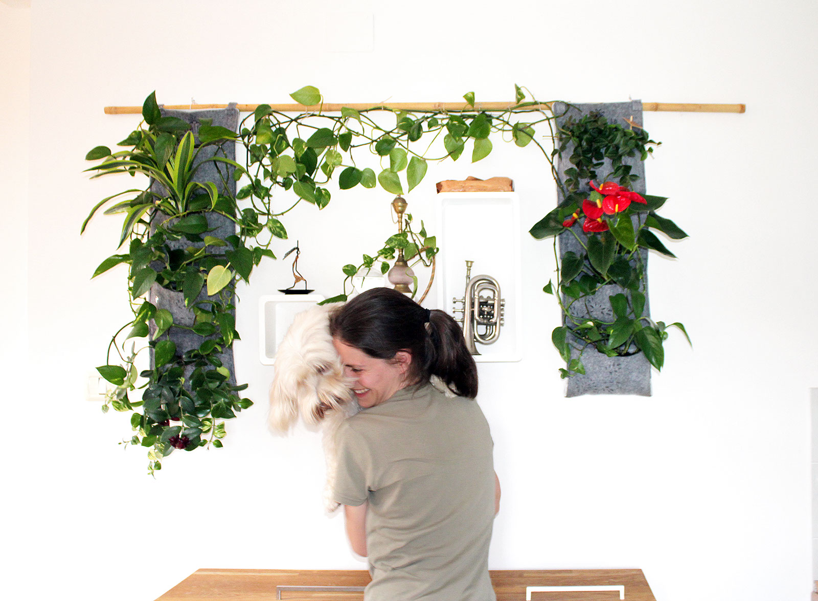 CREATIVE VERTICAL GARDEN