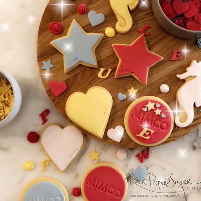 It's always such a pleasure (and so much fun!) to be part of Mimco's VIP night 💗 Such a cute theme... Modify your cookie! 💗 We organised a custom cookie station to tie in with their gorgeous modify range, where you can customise your Mimco and make it your own! Such a great idea! 😍Thanks #mimco for having us again! @rockpapersugarevents @mimco #vipnight #modifyyourcookie #modifyyourmimco #socute #love xx