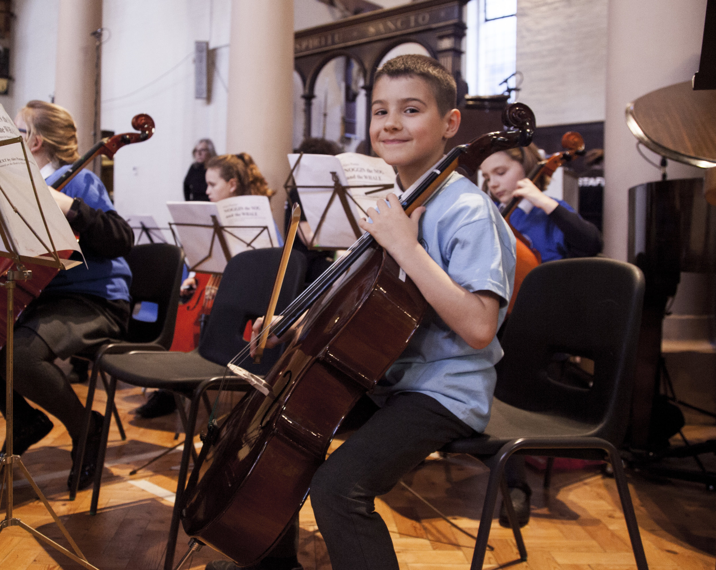 Sonata Package - 5% reduction on your instrumental tuition when you join one of our after school orchestras or theory group