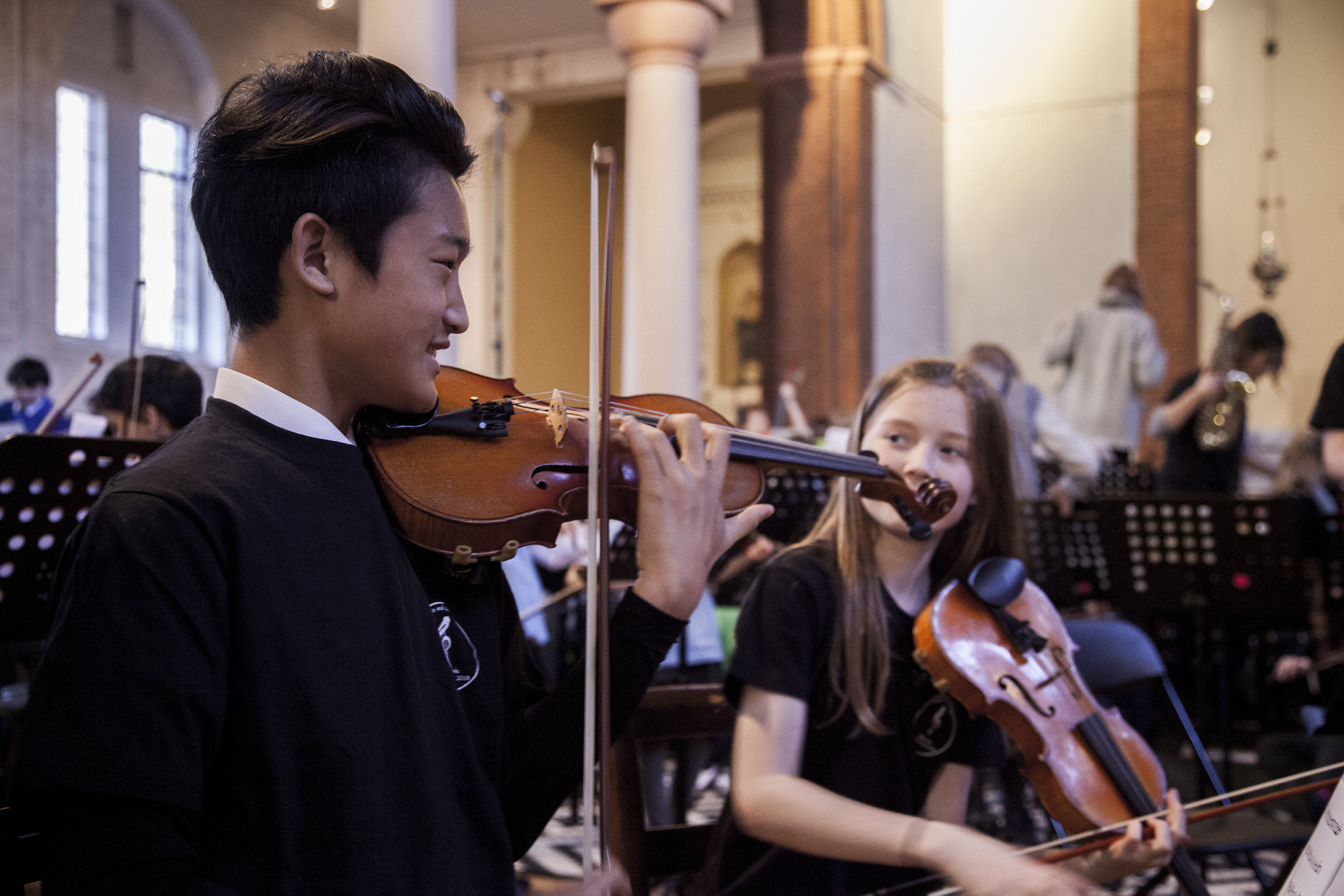 Symphony Package - 10% reduction on your instrumental tuition PLUS10% on the total cost of extra curricula groups when you join 4 or more sessions.
