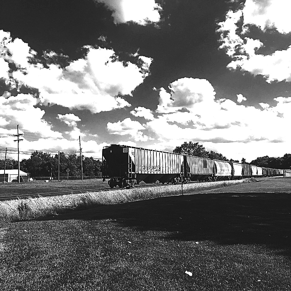 Red coal train (credit: Antonia Grousdanidou)