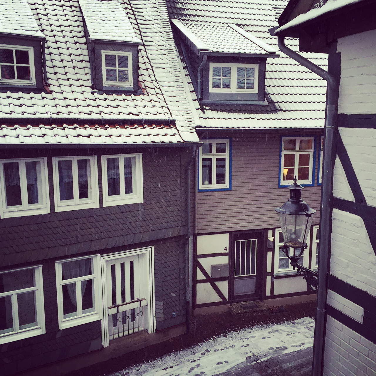 The view from my room in Goslar.