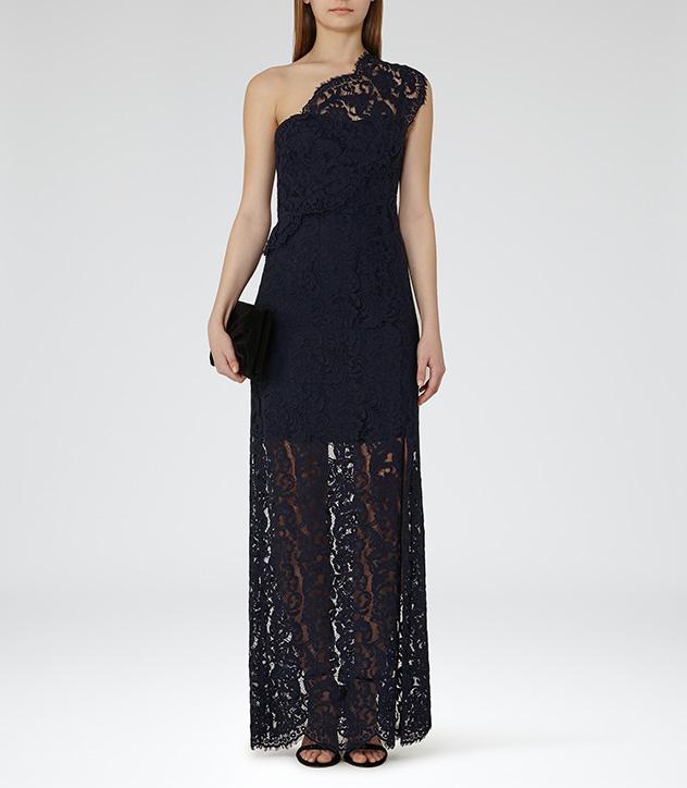 Reiss Lace Maxi Dress