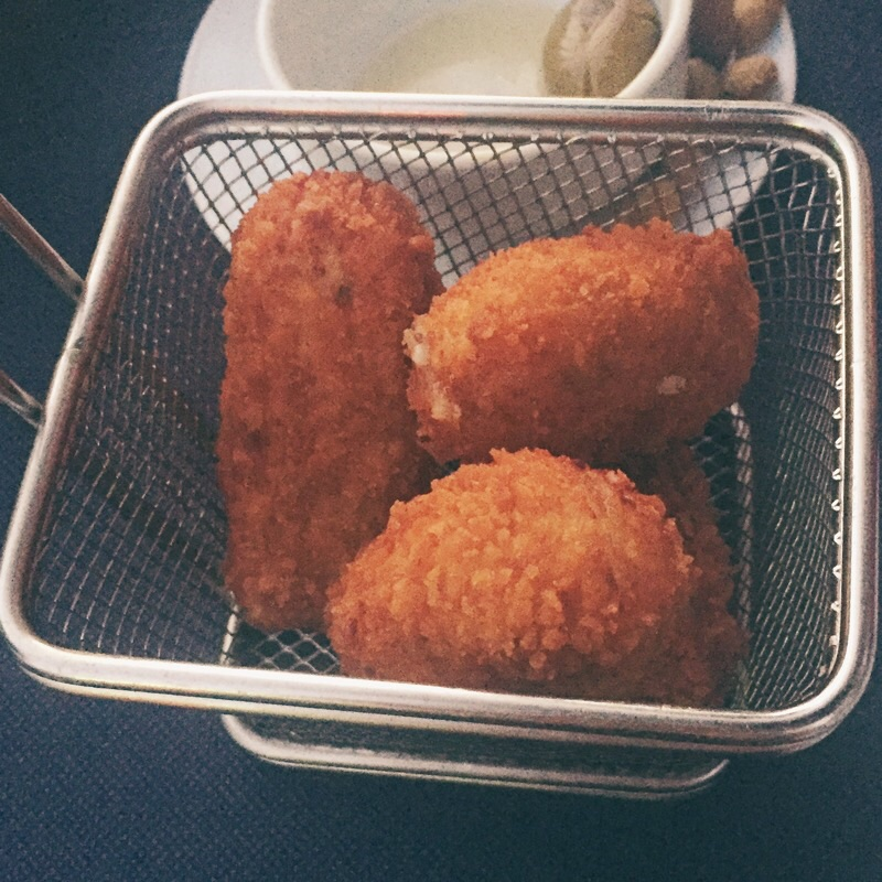 Jamon Croquettas! SO BLOODY DELICIOUS!!