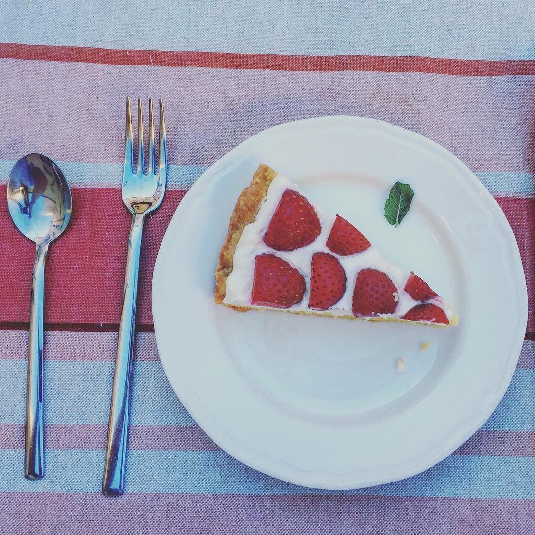 Lorenzo's home made gluten free breakfast cake.