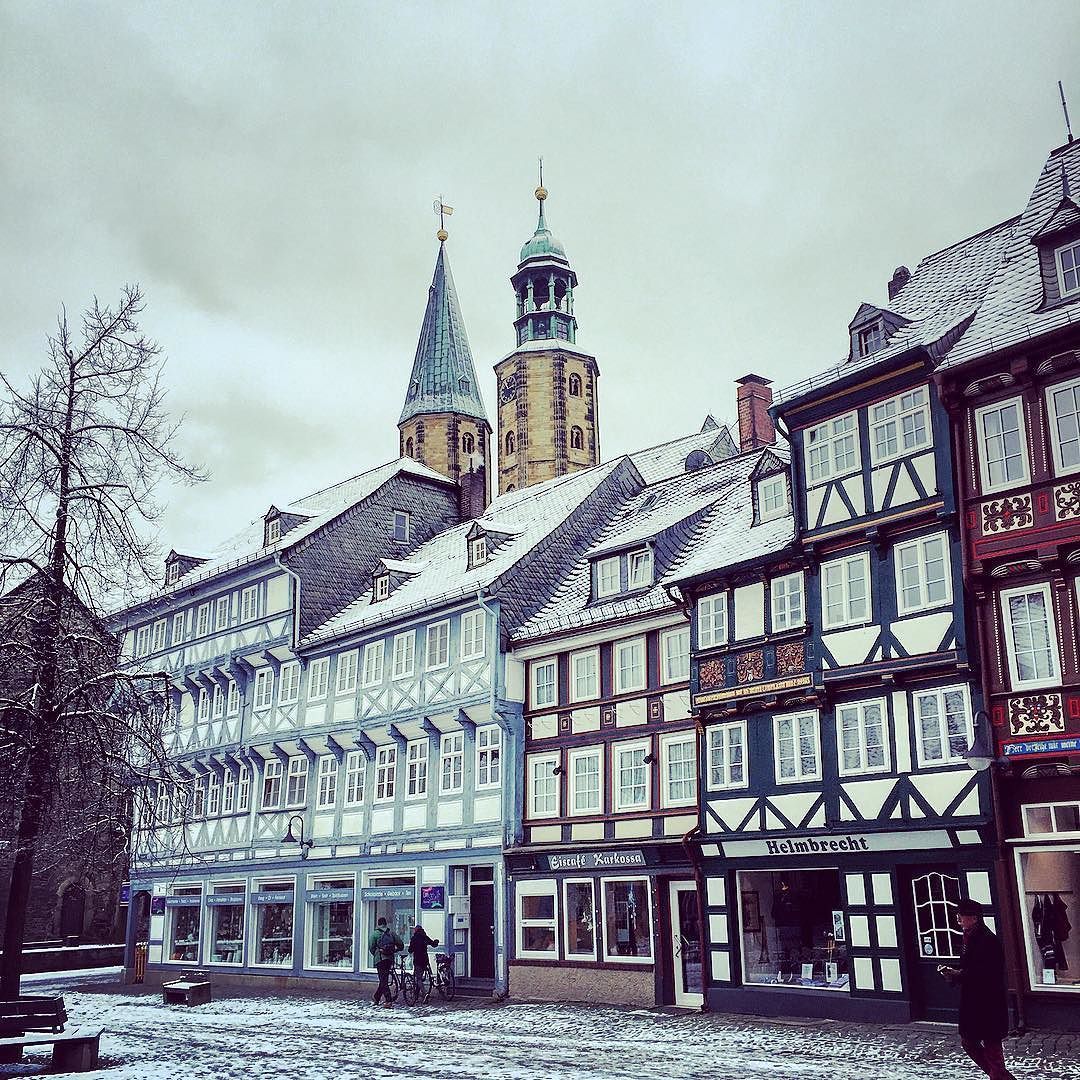 Another fairytale town, Goslar was dusted with snow when I visited in February. It's so pretty and owing to being off the beaten track, it's really good value too.