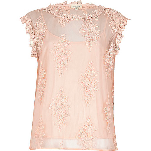 Lace Top, River Island  River Island isn't often a shop that I venture into, but whenever I do, I'm always pleasantly surprised once I've managed to get passed the 'only for teenagers' section. This top is a perfect example of something incredibly wearable given its subtle colour and delicate lace. It's demure yet a little bit sexy and so an easily approachable way to insert a bit of feminine pink into your wardrobe.