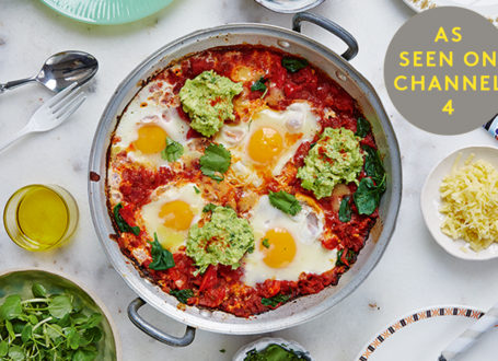 Helmsley and Helmsley's Huevos Rancheros with Guacamole