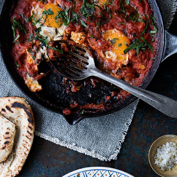 Gizzi Erskine's Shashuka Breakfast Eggs