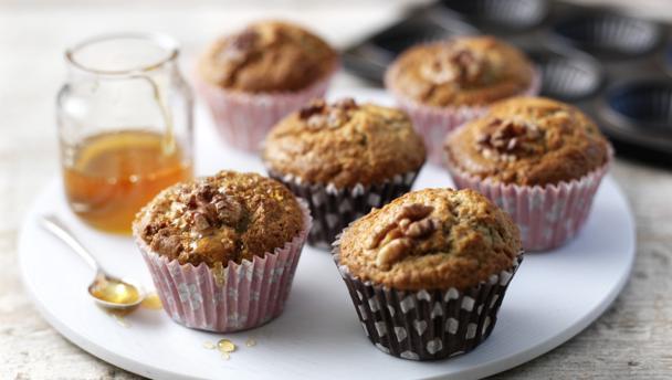 Jill Dupleix Breakfast Banana Muffins