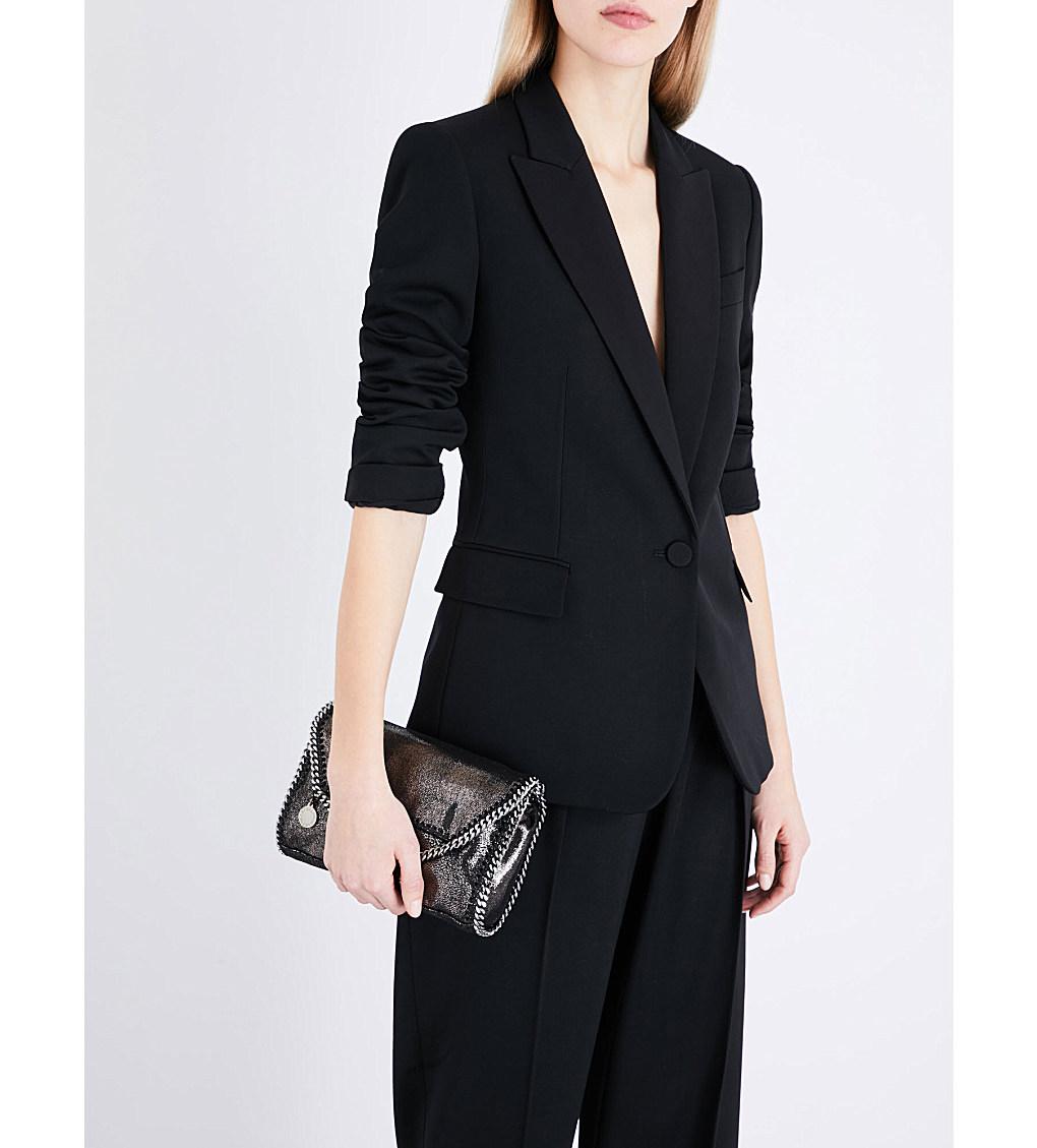 4) Black Blazer   Stella McCartney, Single Breasted Wool Jacket, £1090