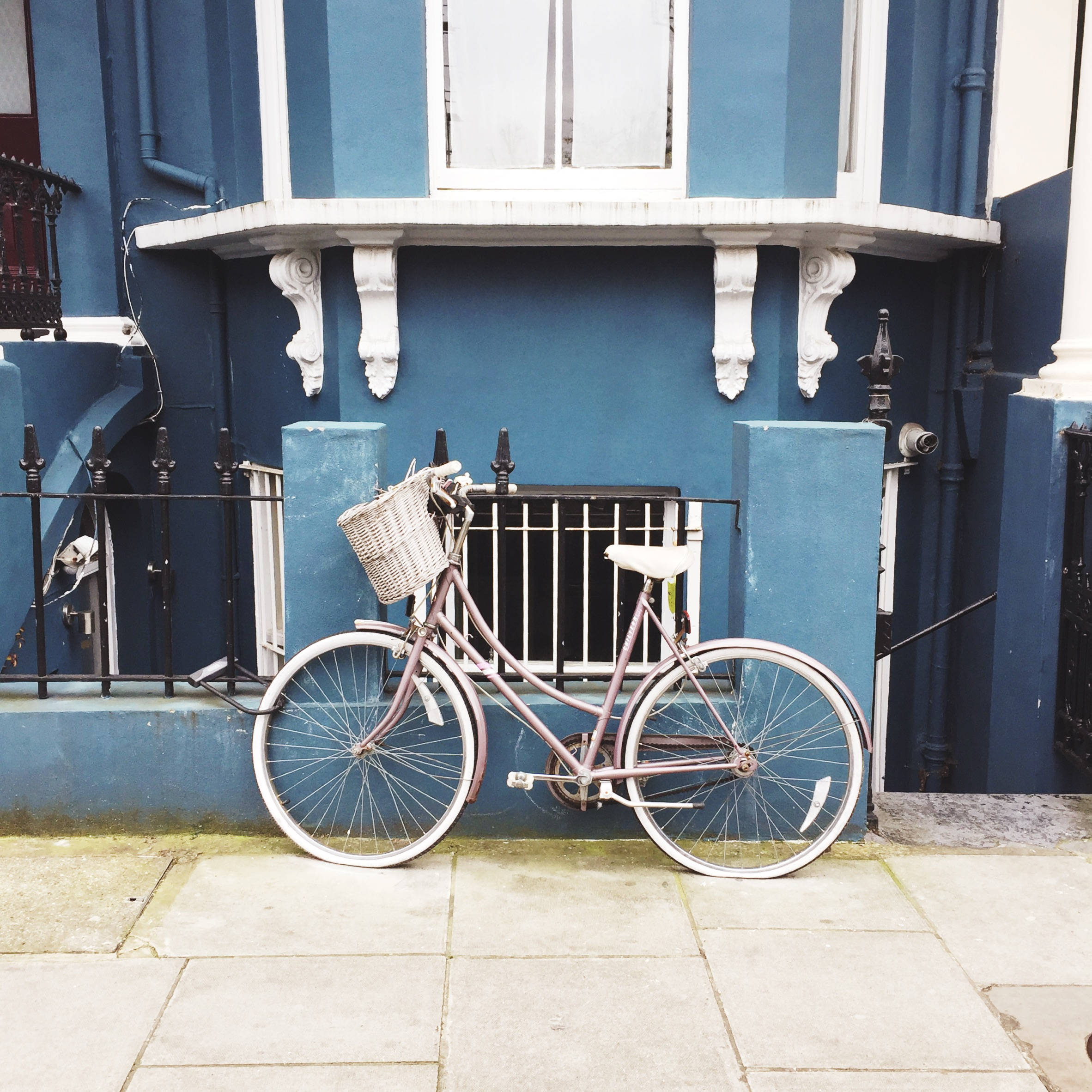 The picture perfectness of every road in Notting Hill.