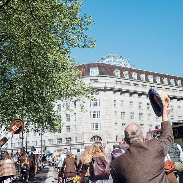 TICKETS GO ON SALE TODAY AT 12 NOON via www.tweedrun.com/tickets  We do hope you can join us on Saturday 4th May for The 11th Tweed Run London.  Tally Ho!