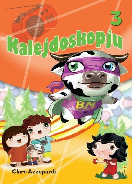 Kalejdoskopju 3 (illustrated by Lisa Falzon)