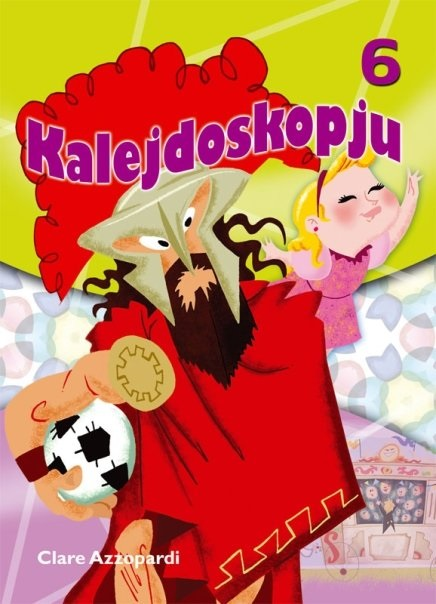 Kalejdoskopju 6 (illustrated by Mark Scicluna)