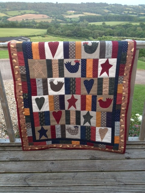 Jeanettes quilt