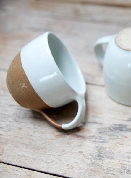 We also have this beautiful range of Mali tableware for sale in the white/terracotta colour including coffee cups and jugs. This can be found here  www.alittlebitofnice.com