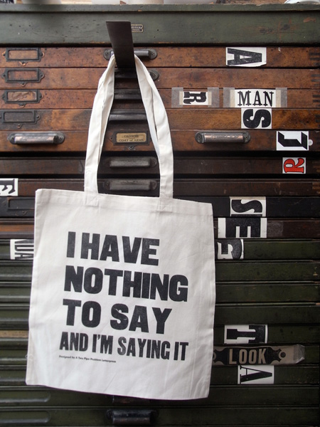 NOTHING-TOTE