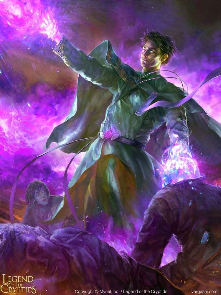 "The Violet Blaze revered by the believers was fueled by their very lives. In wielding it to destroy his enemies, Lonstein would lose another of his brothers in spirit. The pangs of doubt he felt at first were soon numbed by his sense of duty. ""These sacrifices are for the sake of our god and the world."""