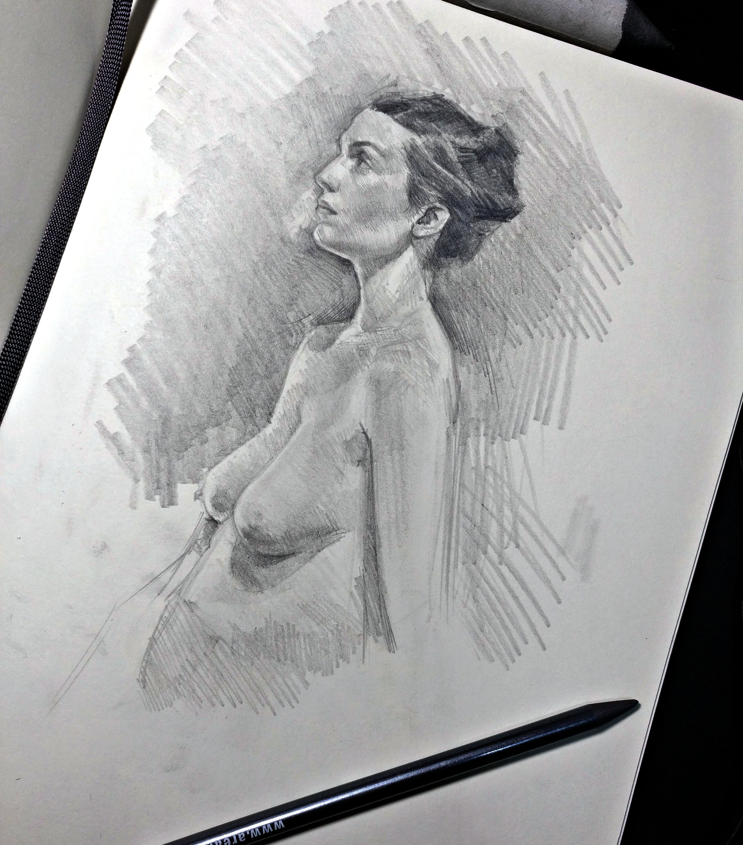 from my last live drawing session.
