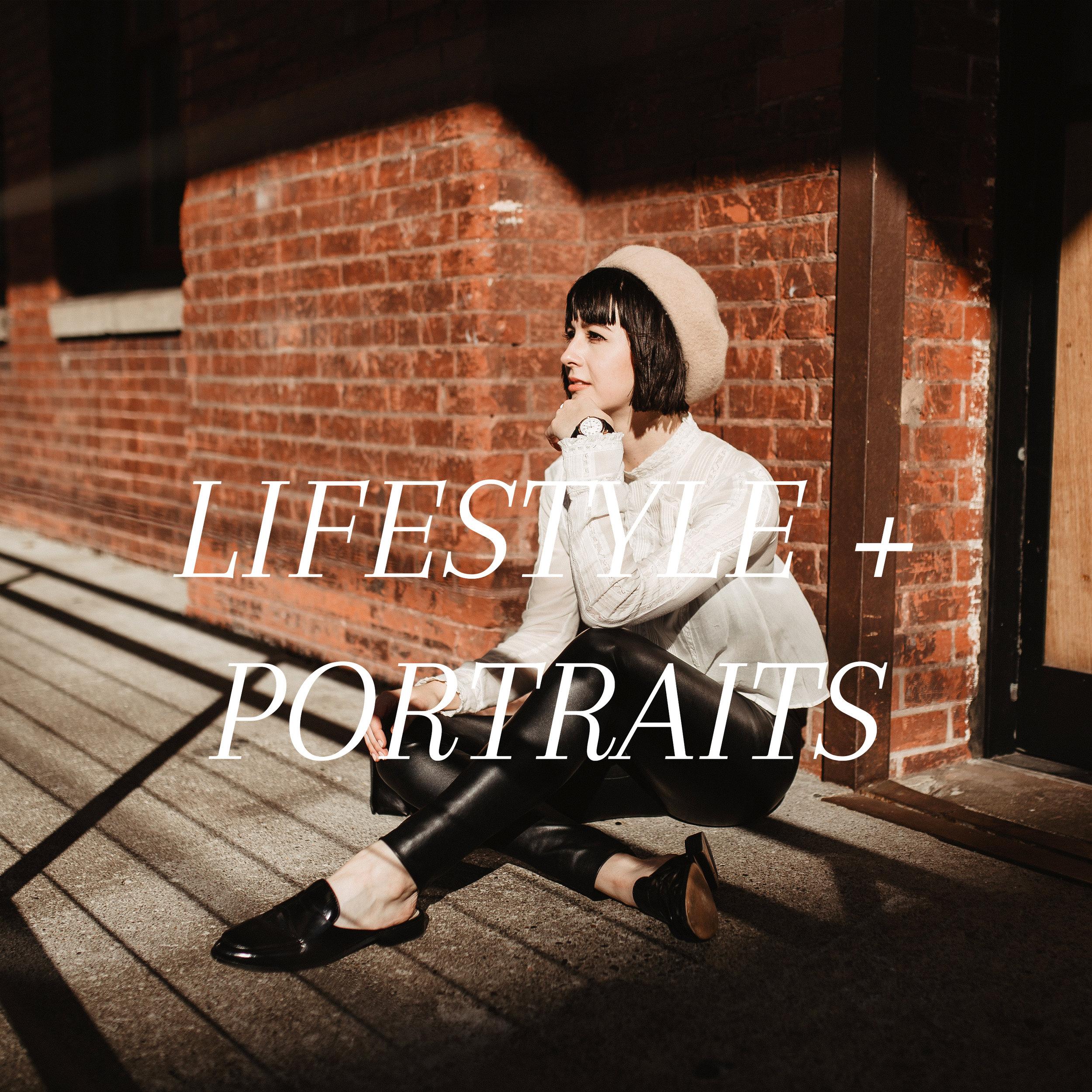 Lifestyle & Portraits
