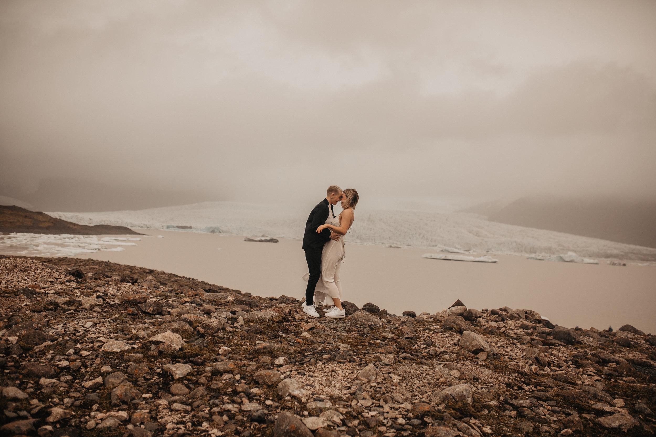 iceland wedding photographer eloping