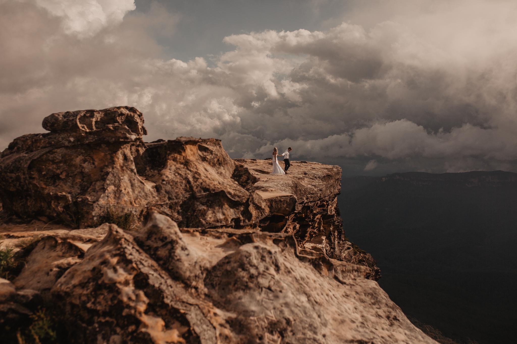 blue mountains Australia elopement
