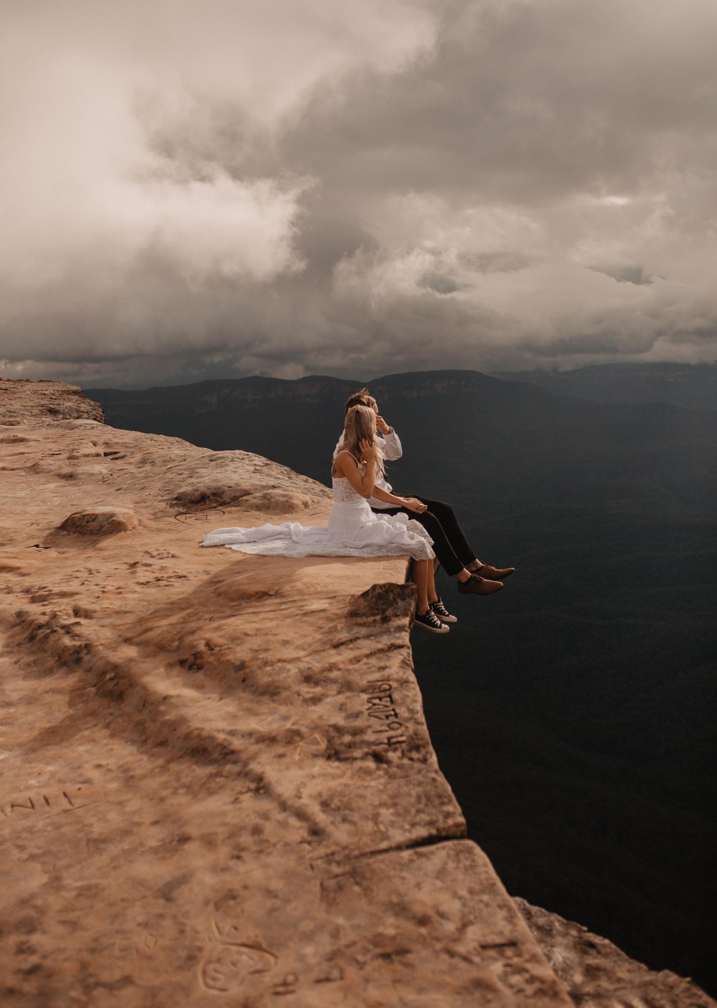 Lincoln Rock Australia Blue Mountains elopement