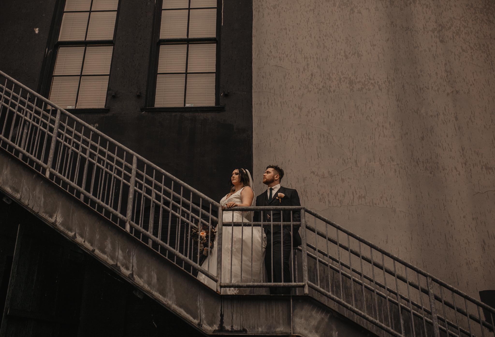 Urban Portland Wedding Portraits