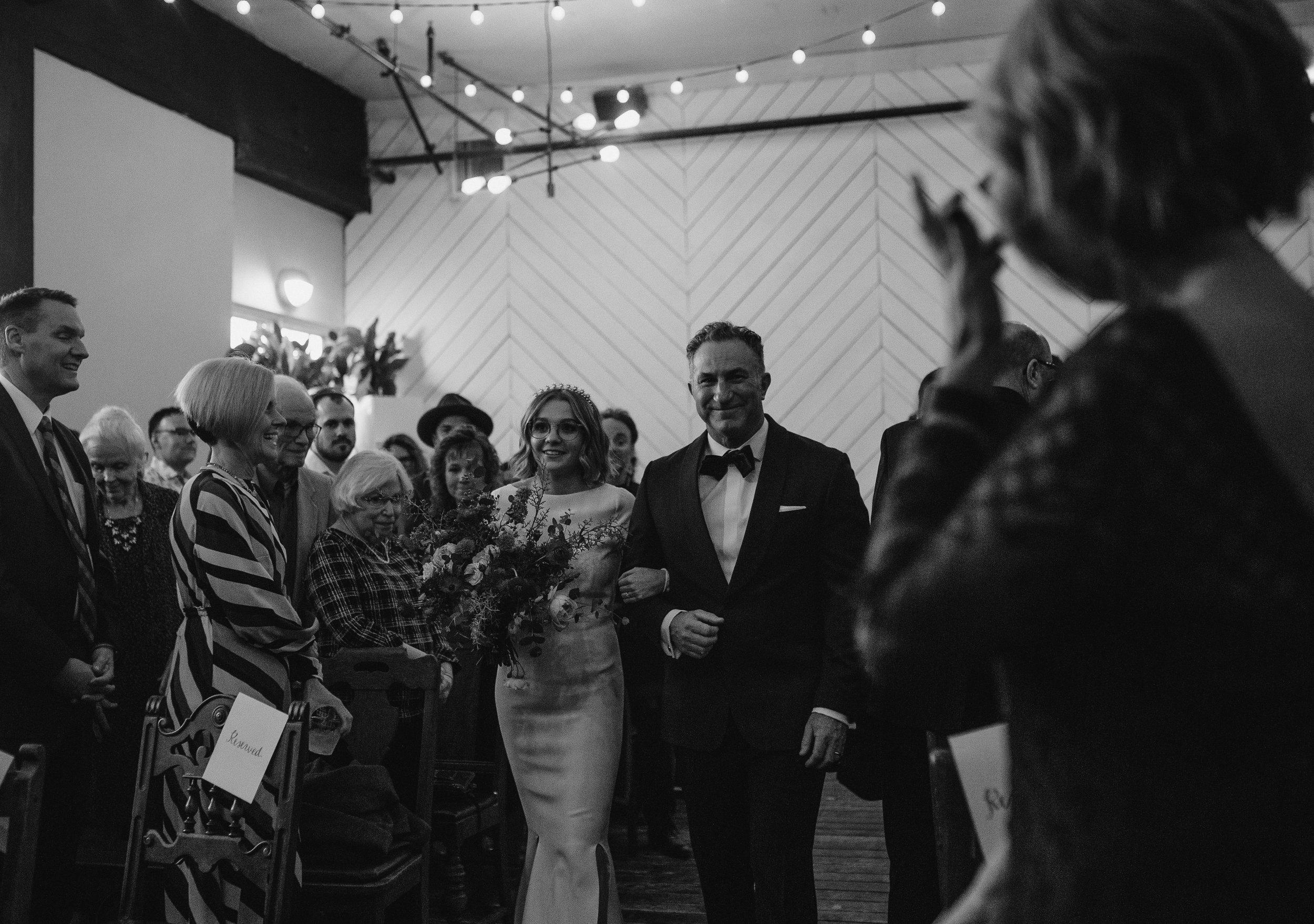 Union/Pine wedding ceremony