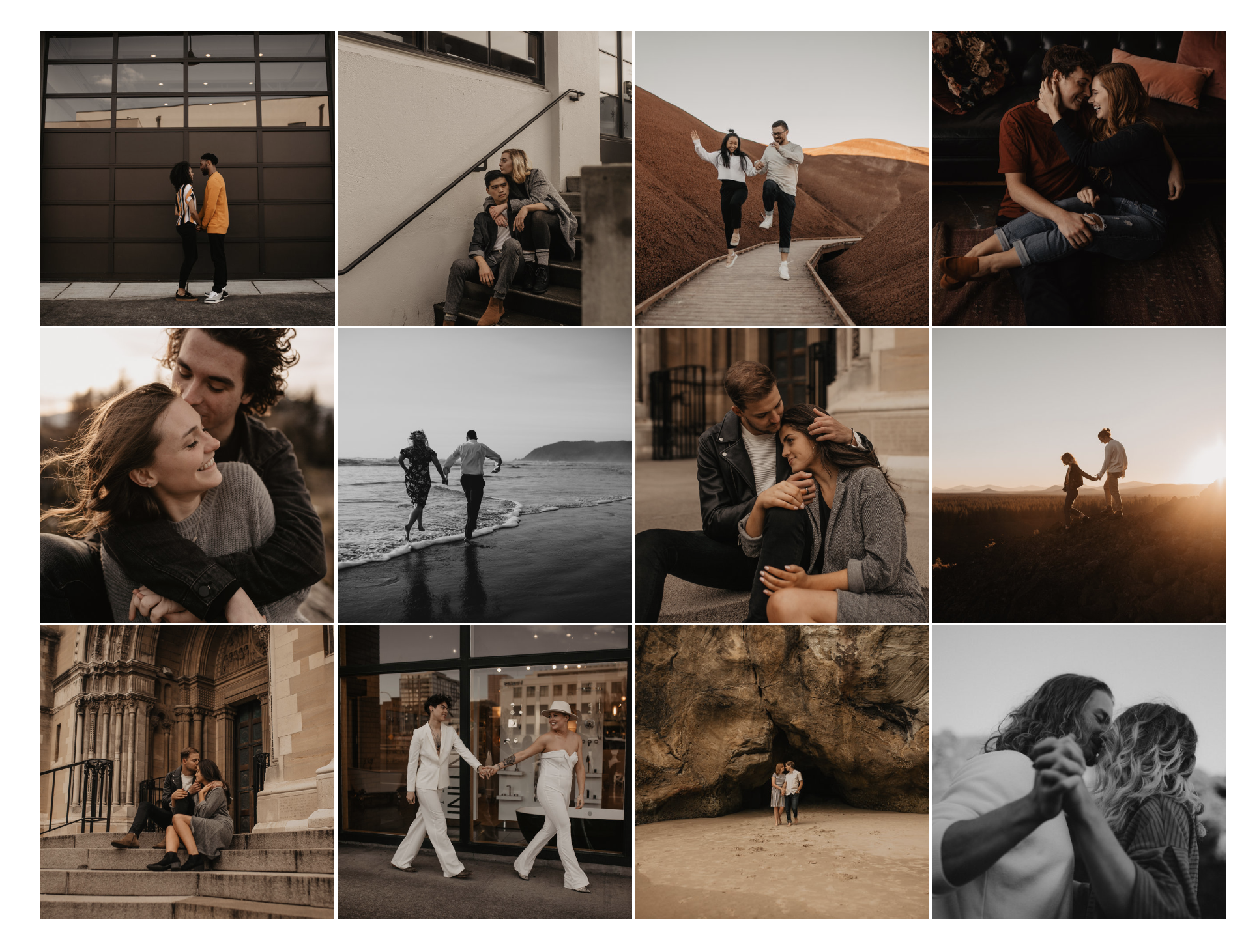 My Favorite Engagement Sessions