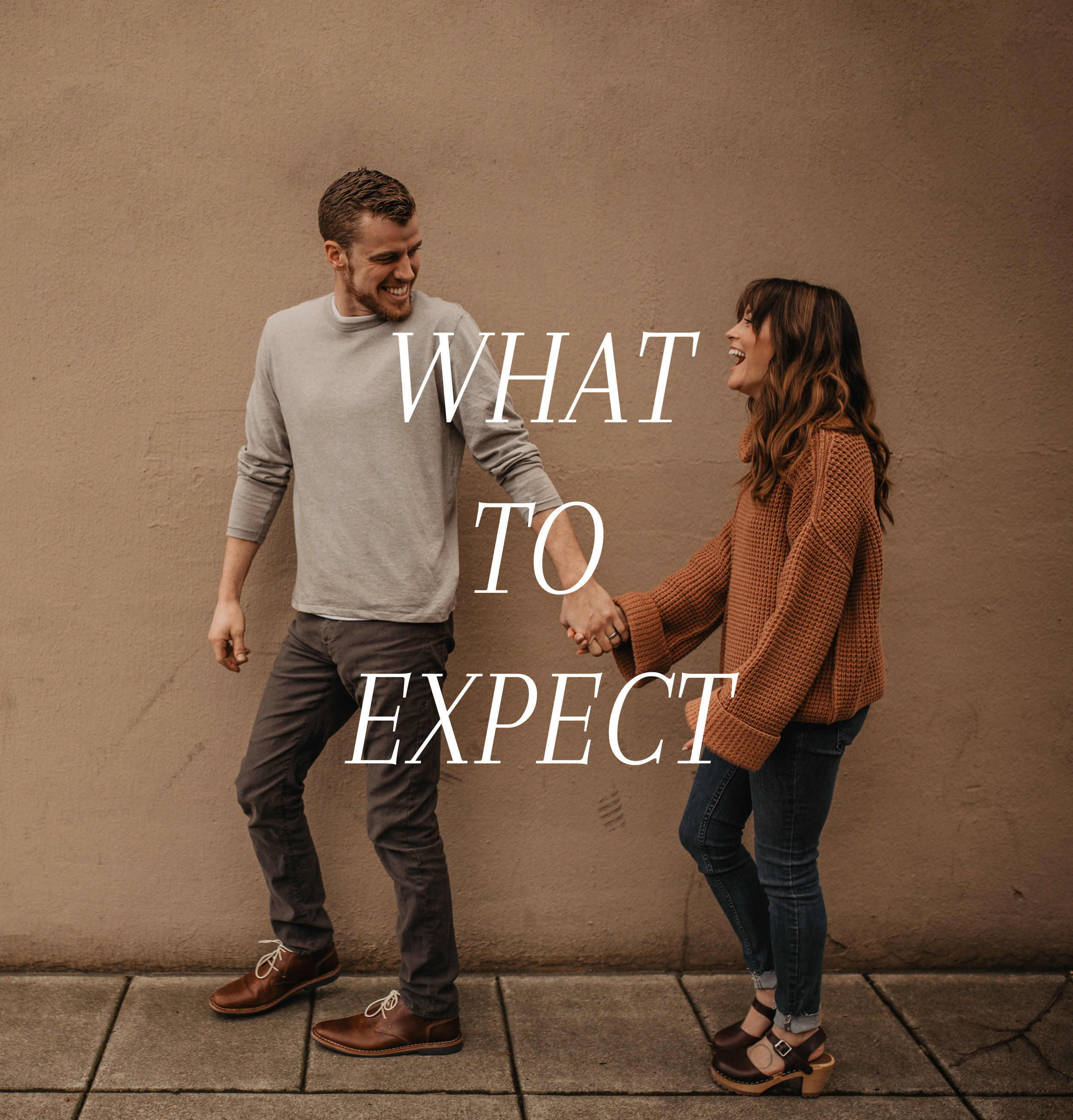 WHAT TO EXPECT ON AN ENGAGEMENT SHOOT