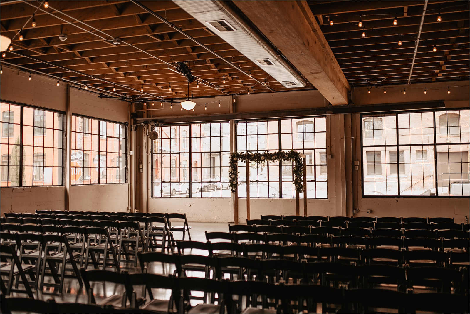 Castaway Urban Wedding Venue Ceremony Space