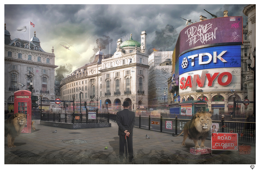 - 'Piccadilly' - Edition of 95 with 10 Artist Proofs.