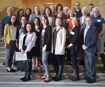 Members of our Advocacy Committee attend OPS Lobby Day on February 28, 2019 in Salem.
