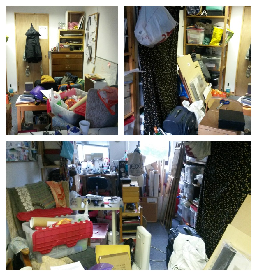 The studio from all angles- BEFORE
